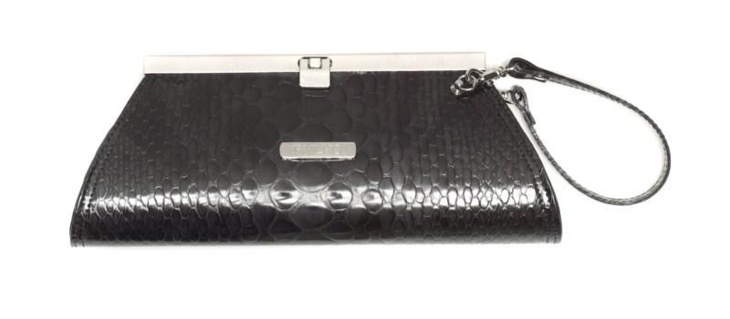 czarna kopertówka Ryłko - moda 2011