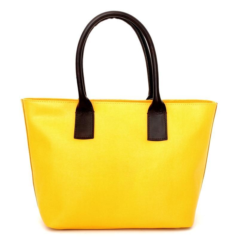 żółta torebka Venezia - torebki na wiosnę 2013