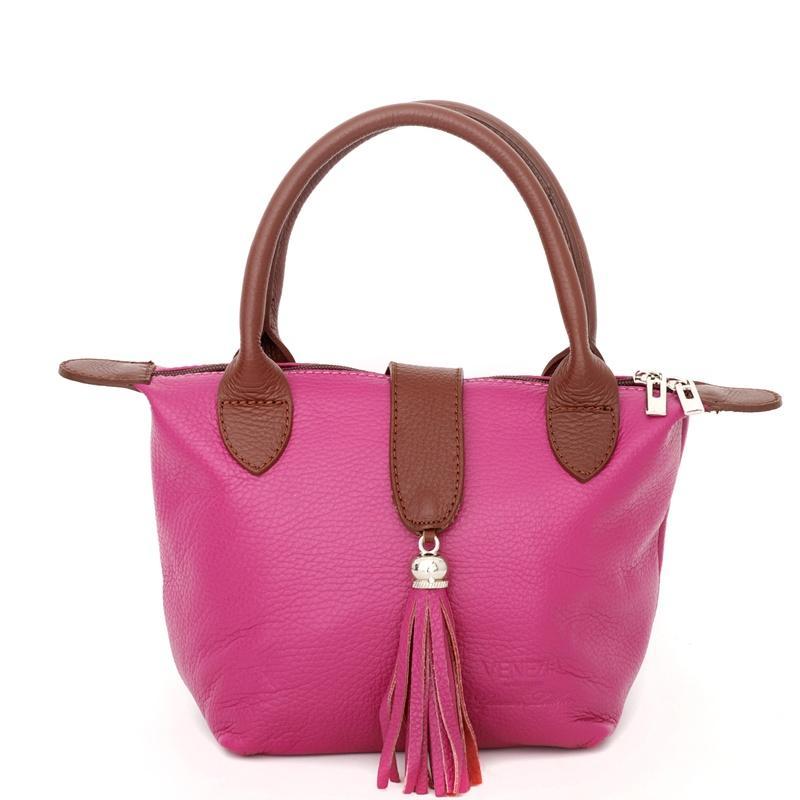 modna torebka Venezia w kolorze różowym - modne dodatki