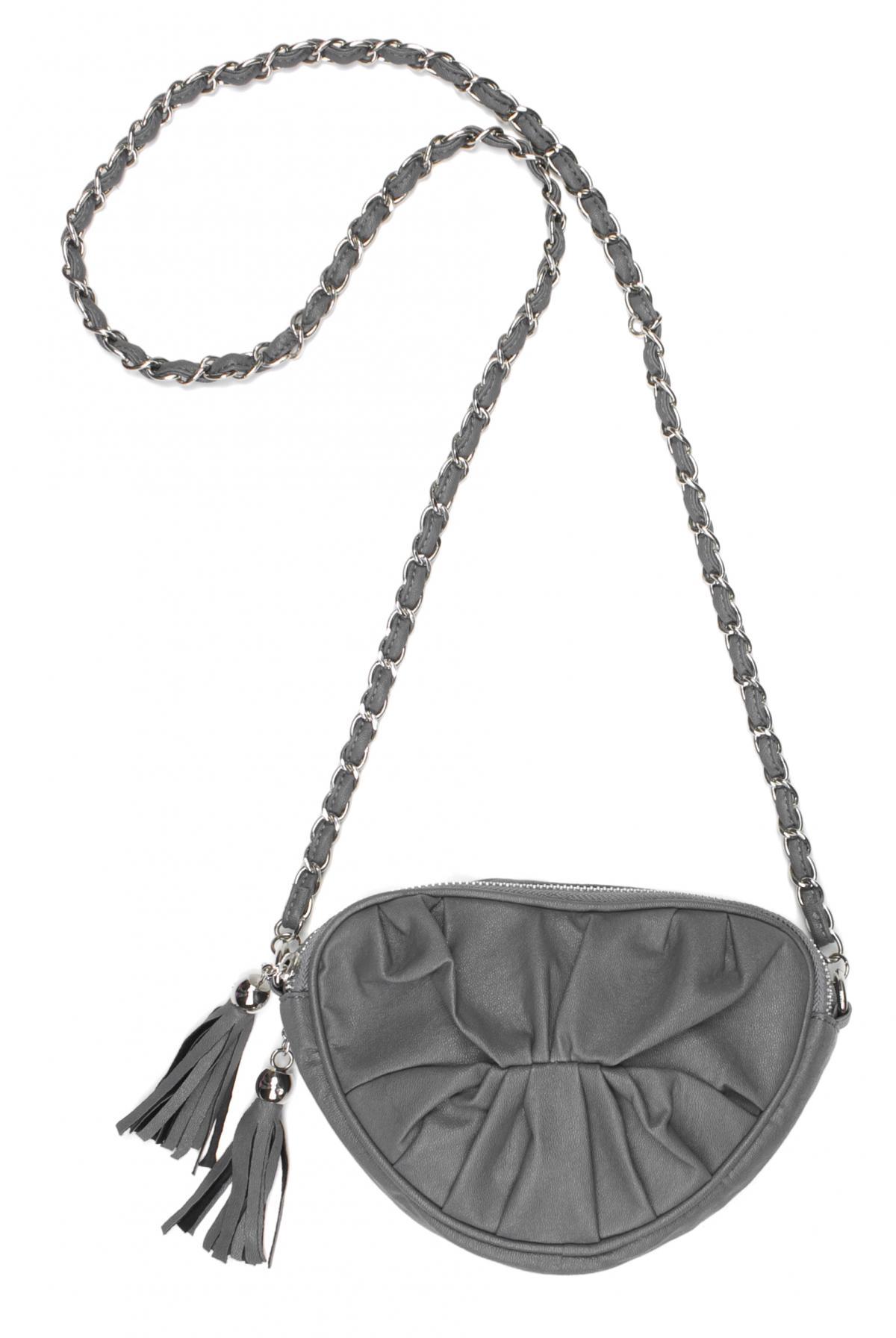 popielata torebka Carry - z kolekcji wiosna-lato 2011