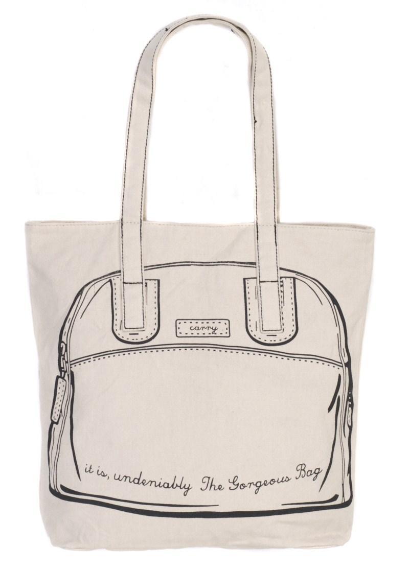 biała torba Carry - z kolekcji wiosna-lato 2011