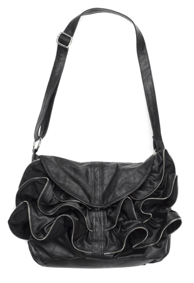 czarna torebka Carry - z kolekcji wiosna-lato 2011