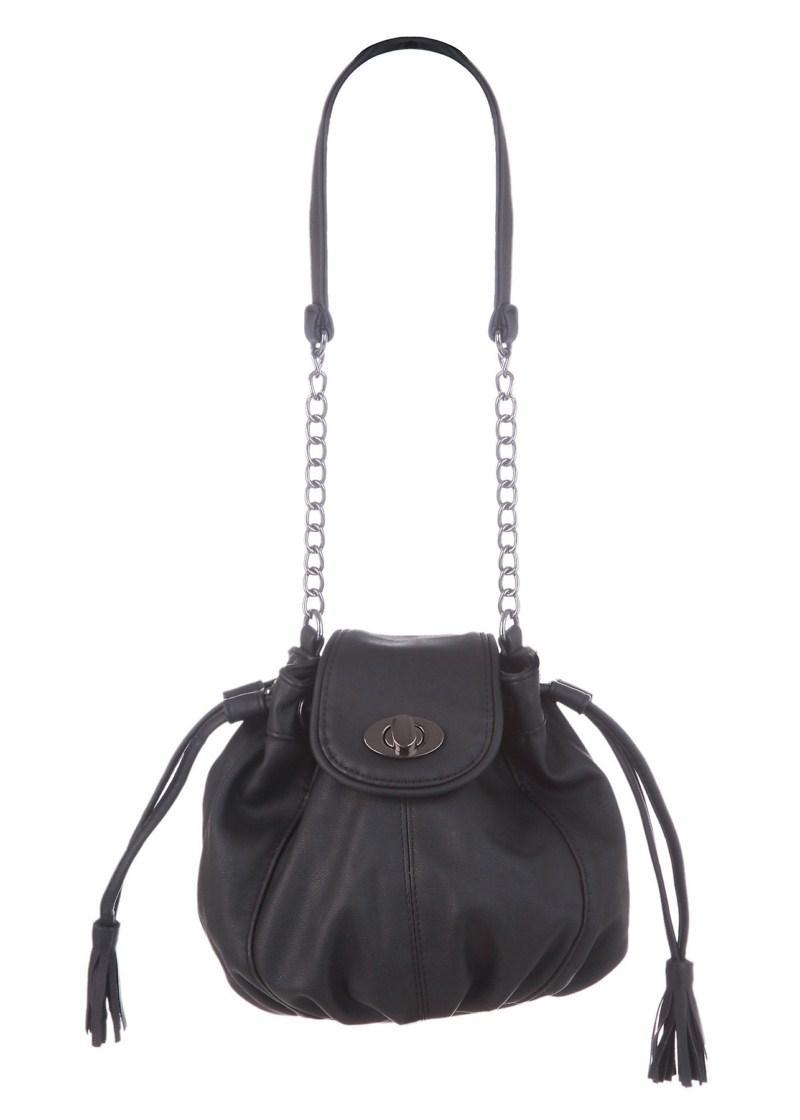 czarna torebka Tally Weijl - z kolekcji wiosna-lato 2011