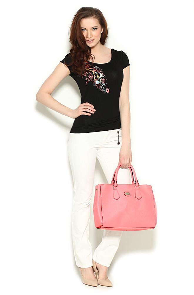 modna torebka Orsay w kolorze jasnoróżowym - modne torebki