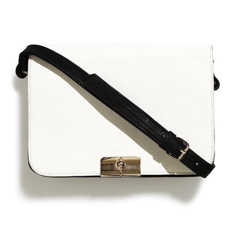 torebka Reserved w kolorze biało-czarnym - modne torebki 2013