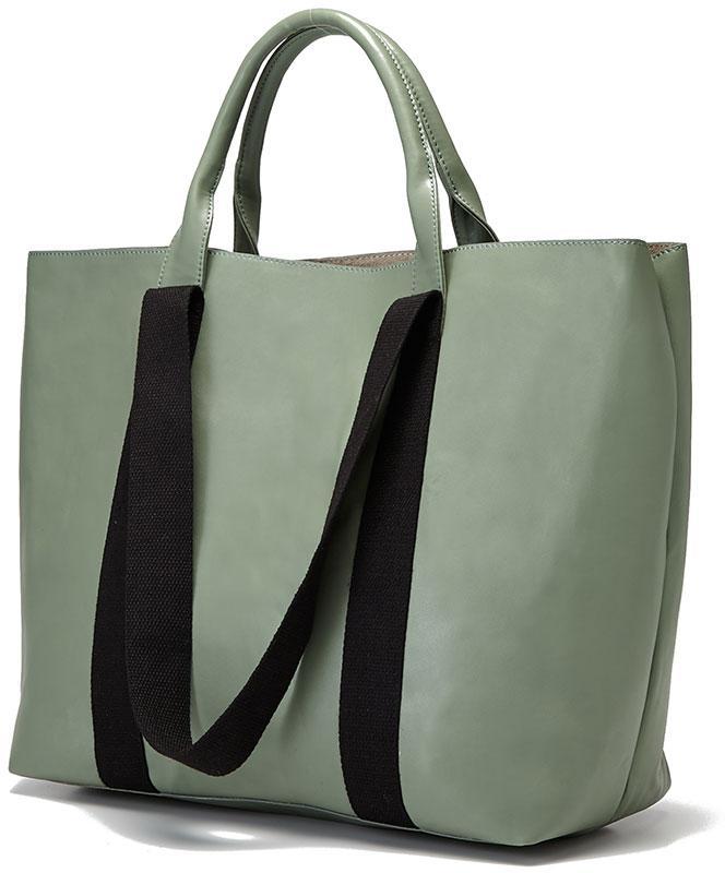 klasyczna torebka Reserved w kolorze khaki - modne torebki 2013