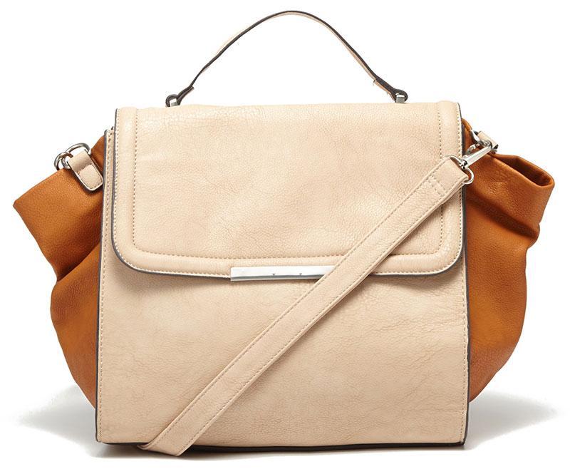 torebka Reserved w kolorze brązowo-beżowym - torebki na wiosnę i lato 2013