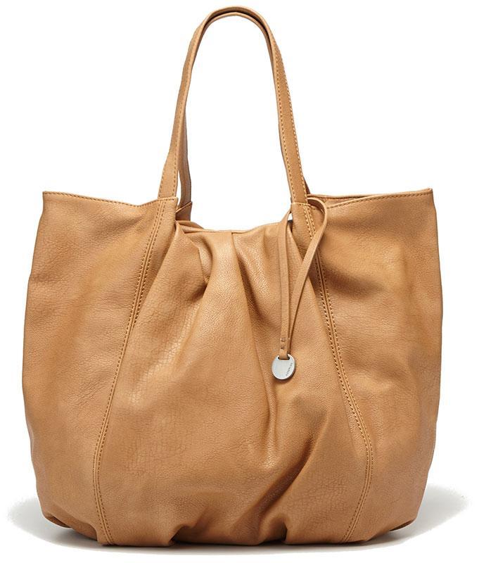 duża torebka Reserved w kolorze brązowym - modne torebki 2013