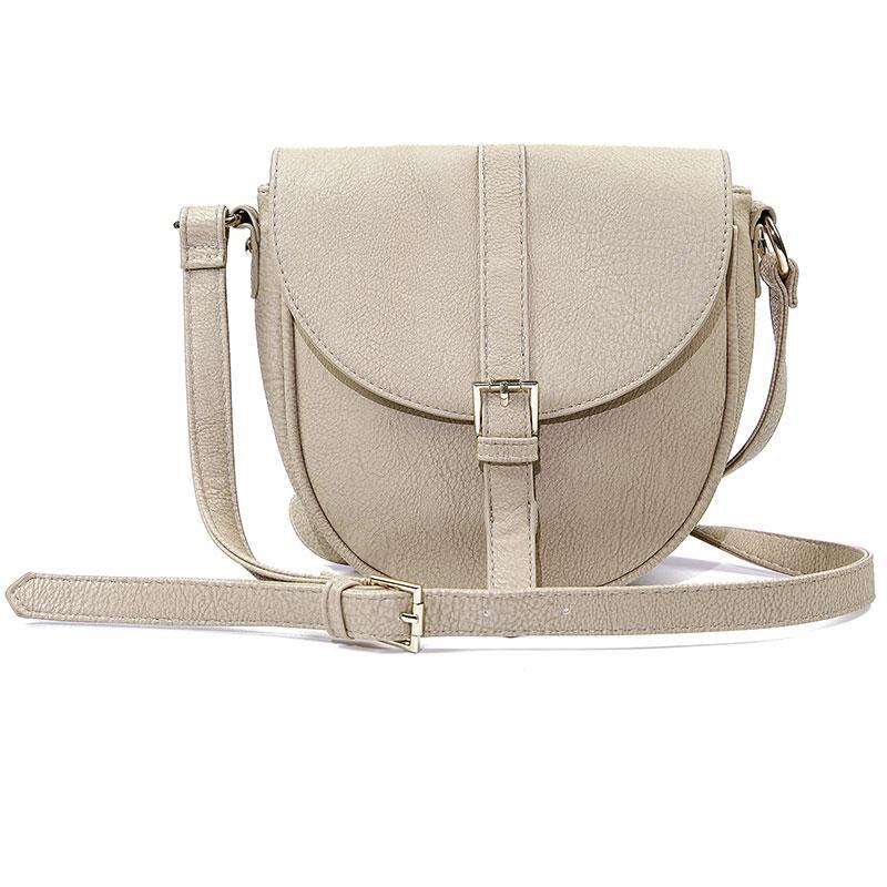 mała listonoszka Reserved w kolorze szarym - modne torebki 2013