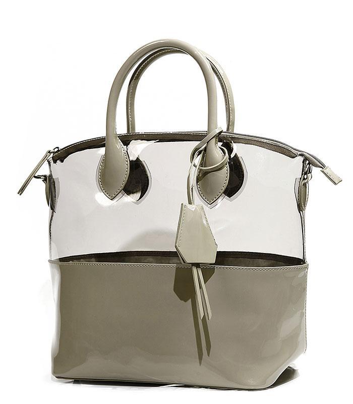 szara torebka Reserved - modne torebki 2013