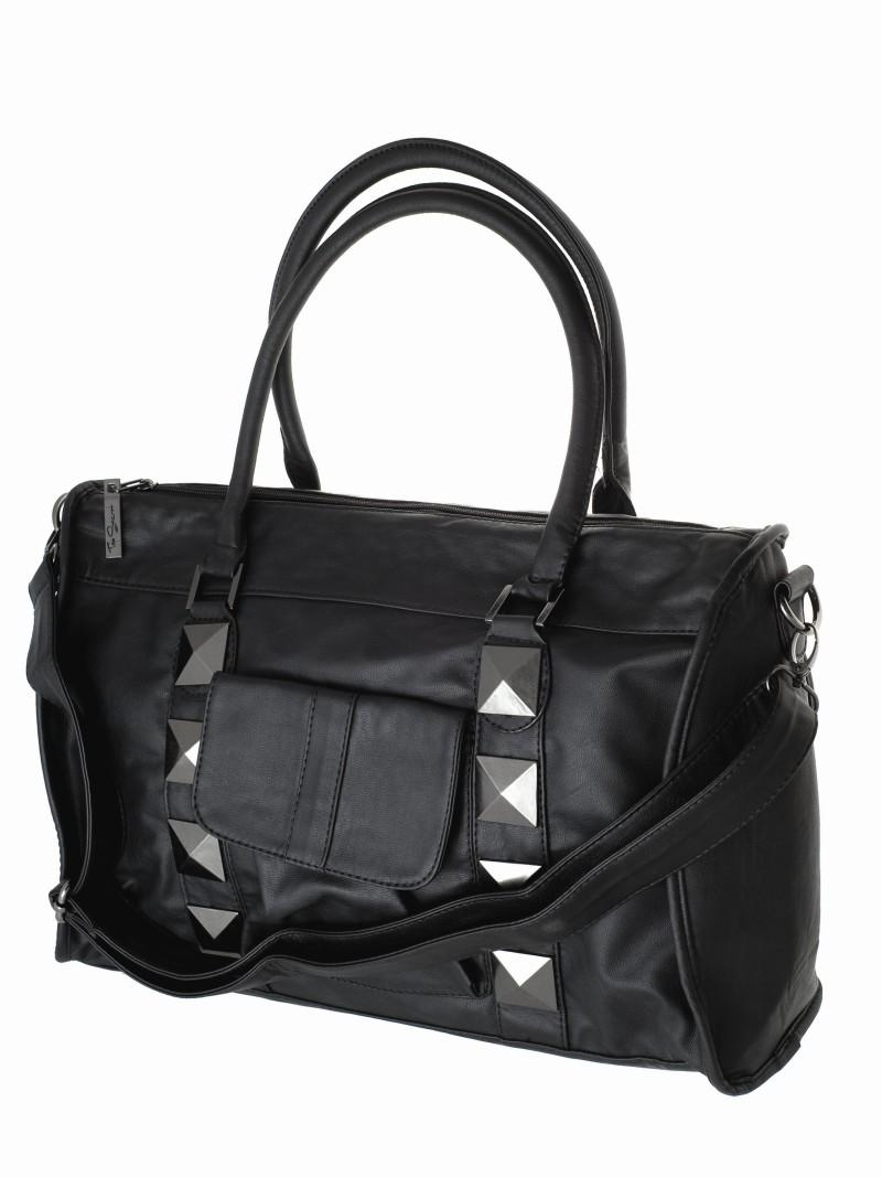 047d876506901 czarna torebka Top Secret - moda zimowa - Torebki Top Secret z ...