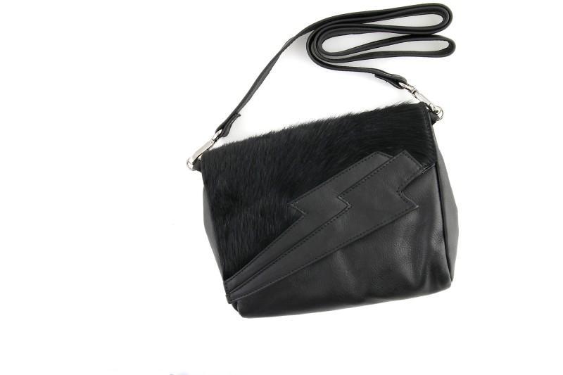 czarna kopertówka Prima Moda