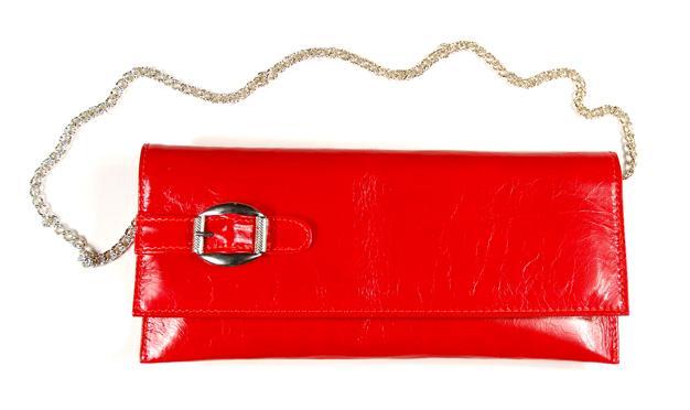 czerwona kopertówka Venezia