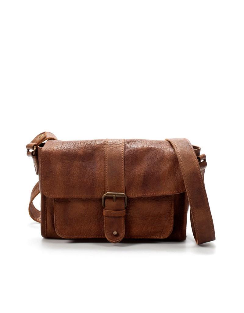 brązowa torebka ZARA - kolekcja na lato