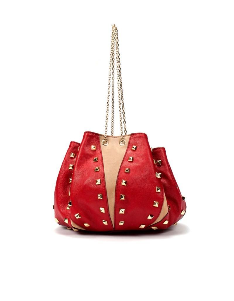 czerwona torebka ZARA - trendy wiosna-lato