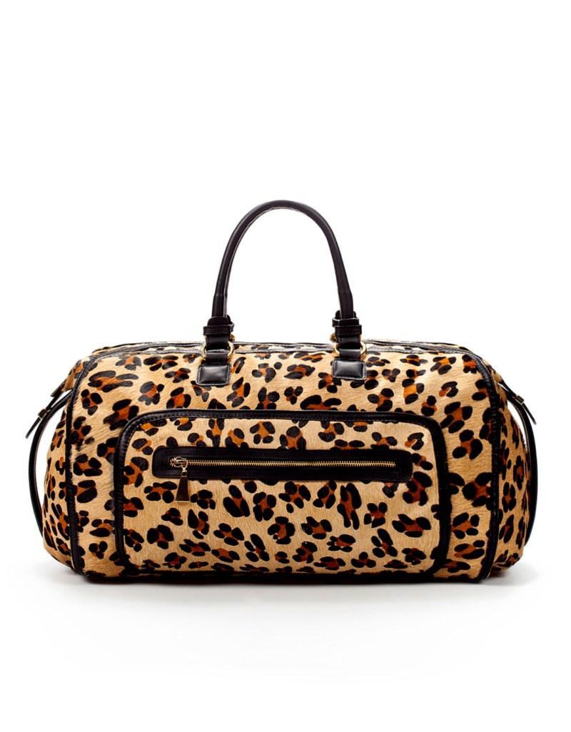 torebka ZARA w panterkę - moda 2011