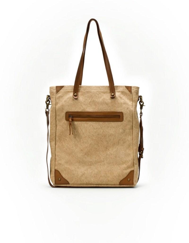 beżowa torebka ZARA - kolekcja na lato