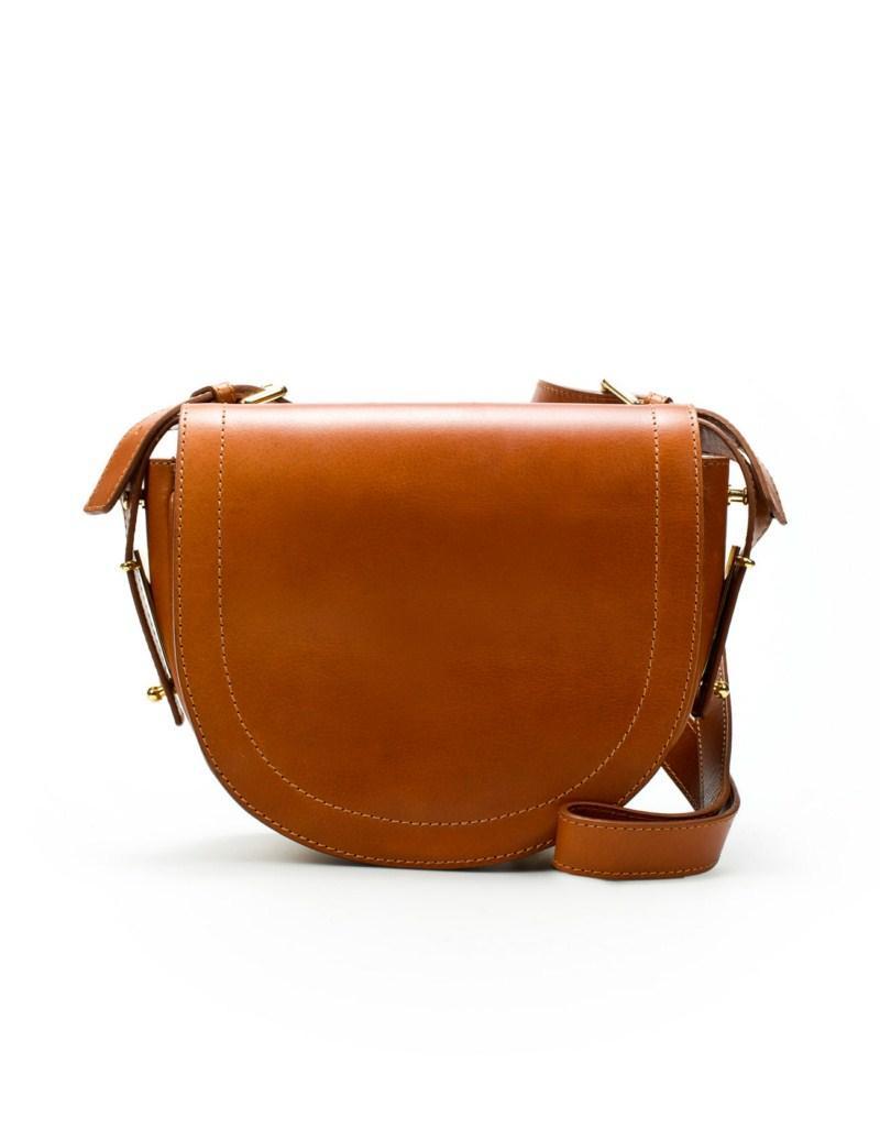 brązowa torebka ZARA ze skóry - moda 2011
