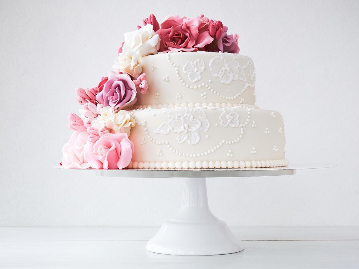 Tort ślubny klasyczny