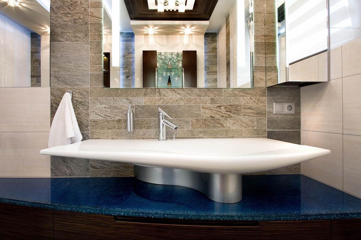 Umywalka łazienkowa  z baterią Cassino VerdeLine Plus
