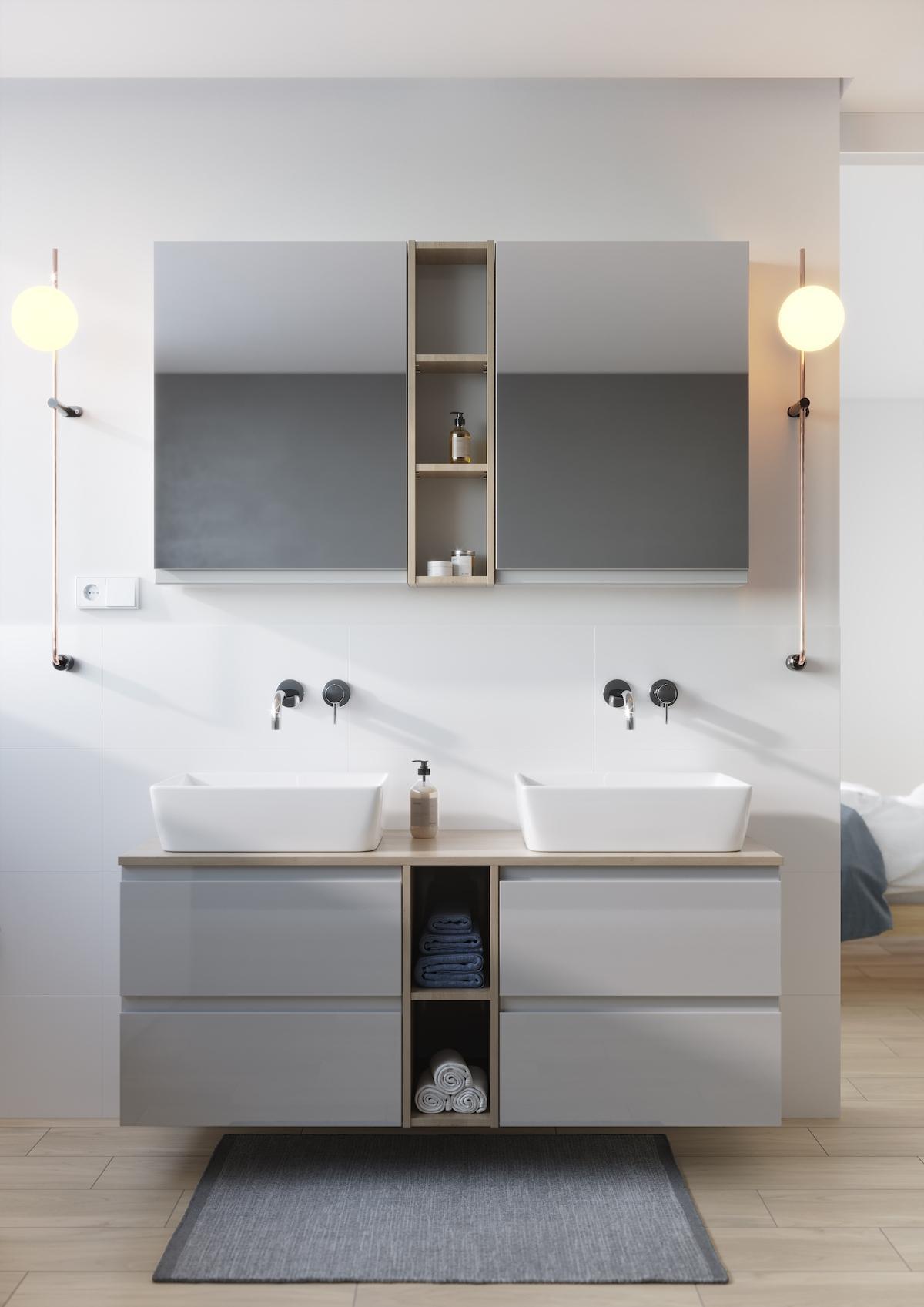 Umywalka łazienkowa Moduo