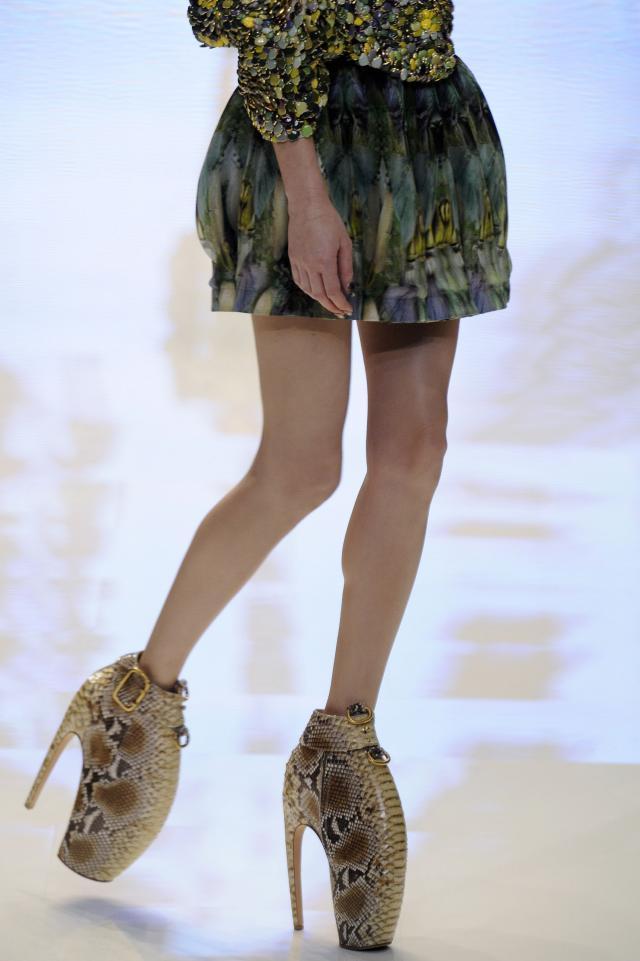 Alexander McQueen, kolekcje wiosna-lato 2010