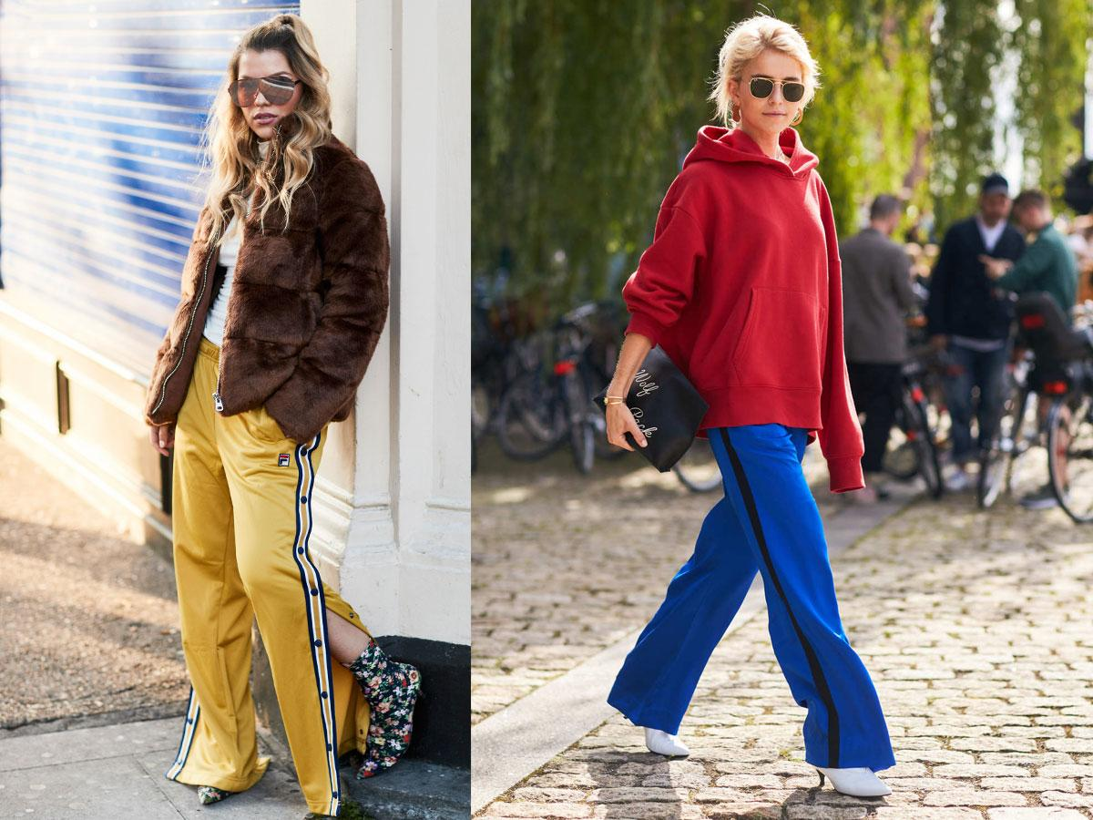 Spodnie z lampasami - antytrendy jesień 2019