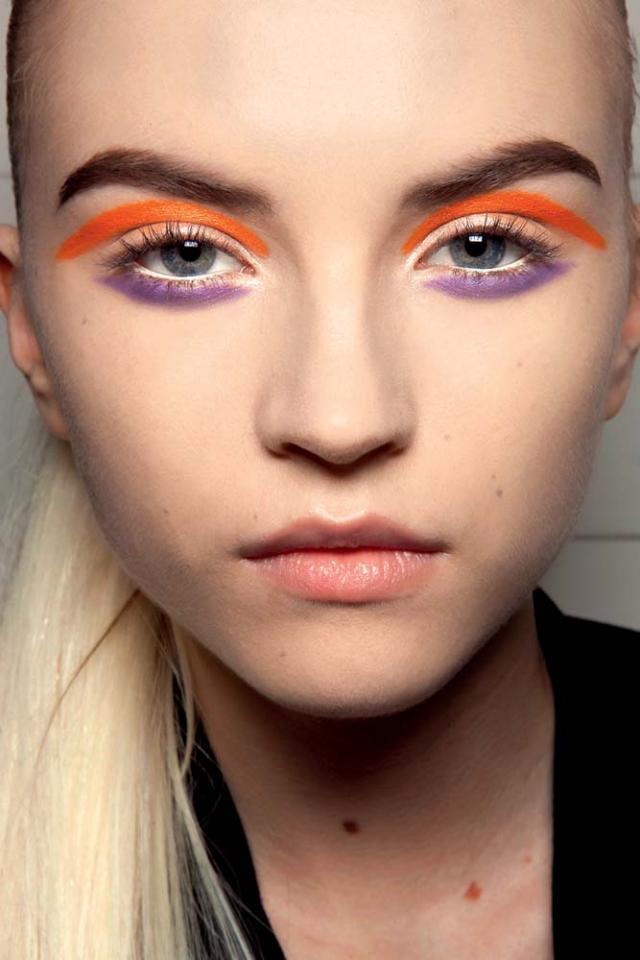 makijaż, trendy, jesień - zima 2010/11
