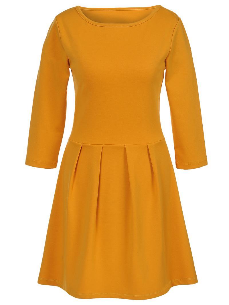 Trendy na jesień 2012: kolor musztardowy