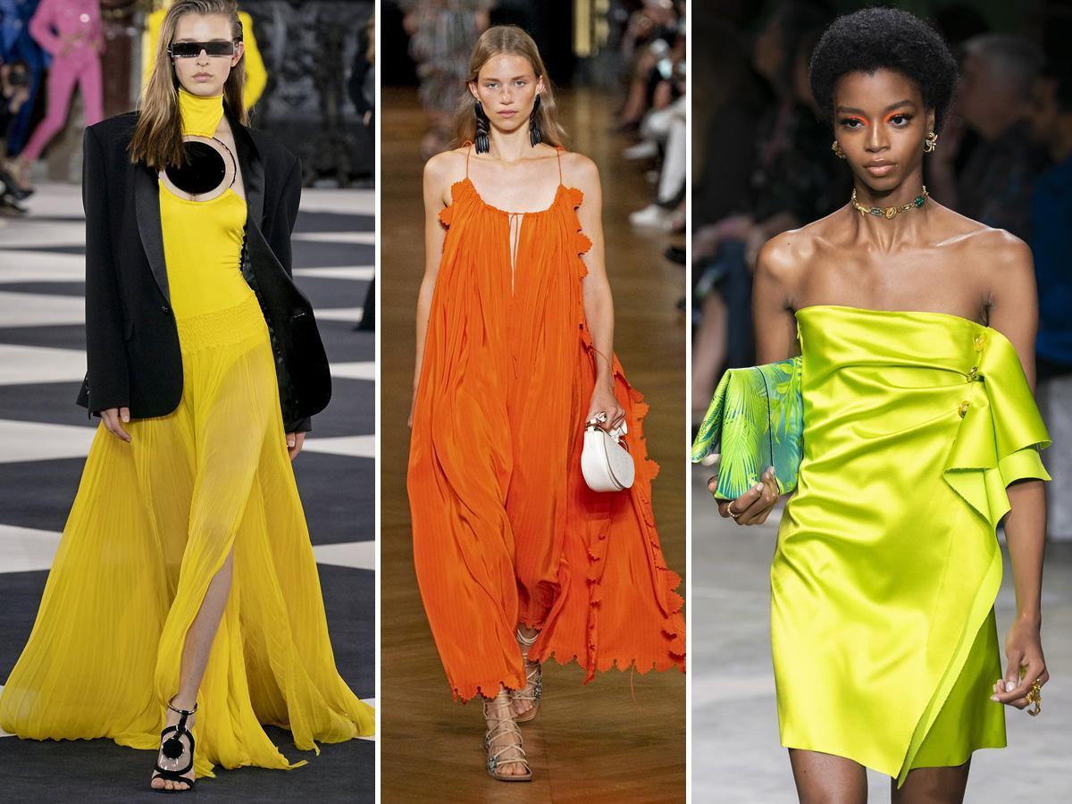 trendy wiosna lato 2020 neony