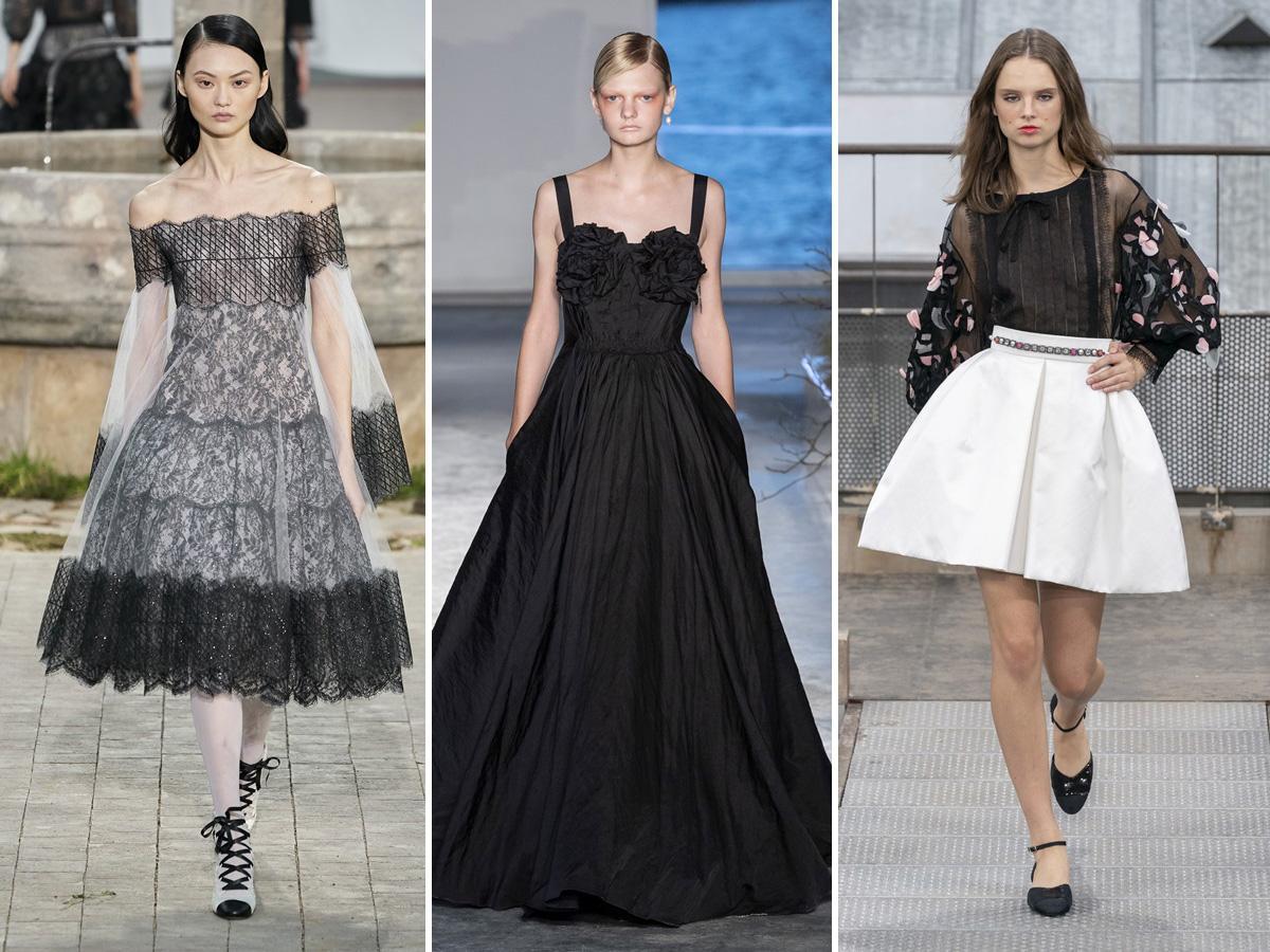 trendy wiosna/lato 2020: rozkloszowane spódnice i sukienki