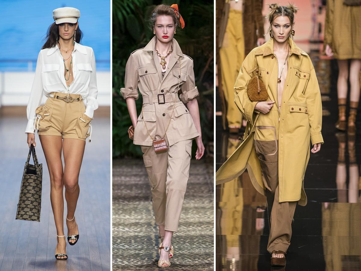 trendy wiosna lato 2020 safari