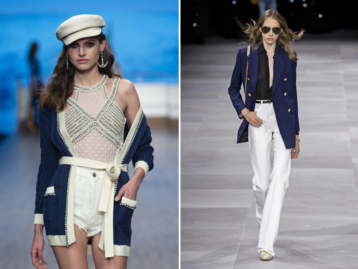 trendy wiosna lato 2020 ubrania w stylu marynarskim