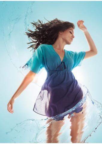 niebieska sukienka Triumph - kolekcja letnia