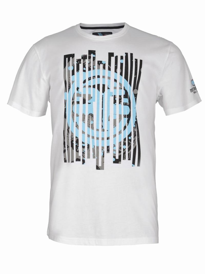 biały t-shirt Troll z nadrukiem - wiosenna kolekcja