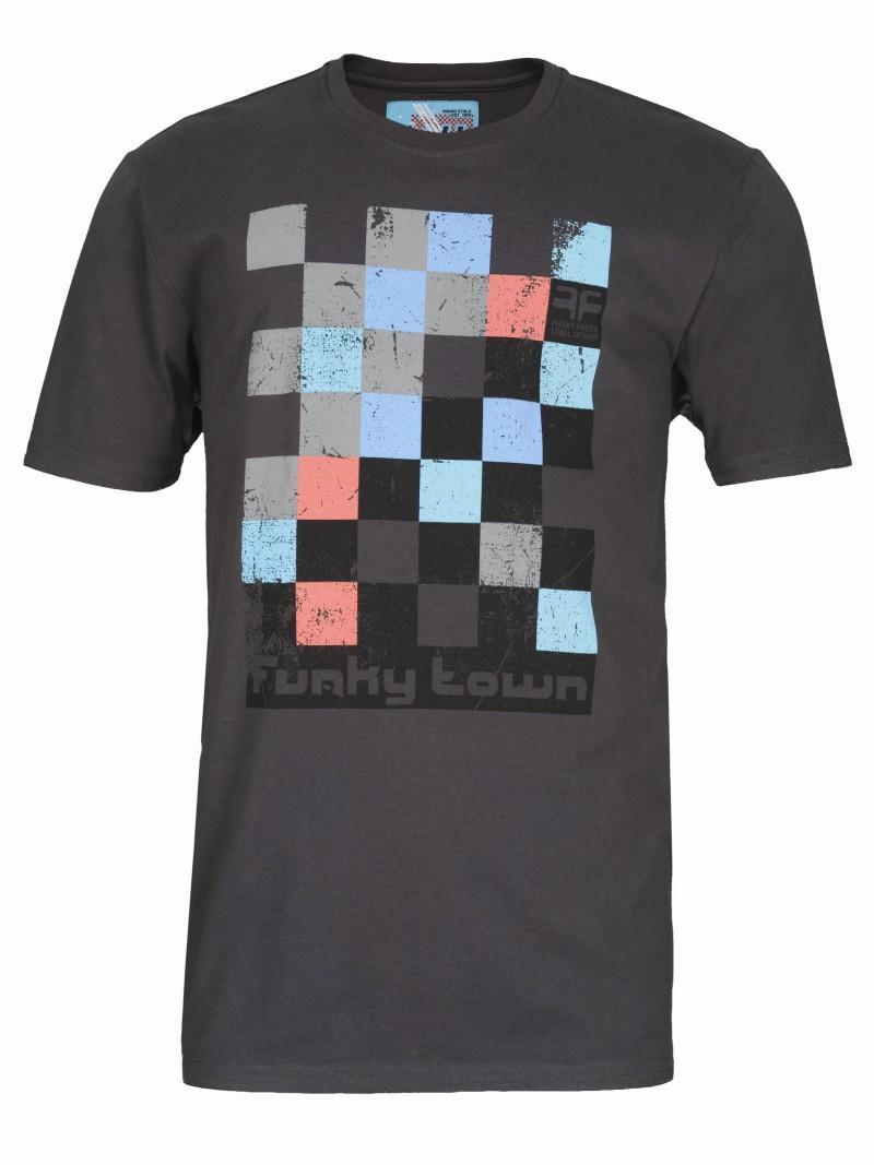 czarny t-shirt Troll z nadrukiem - wiosna/lato 2011