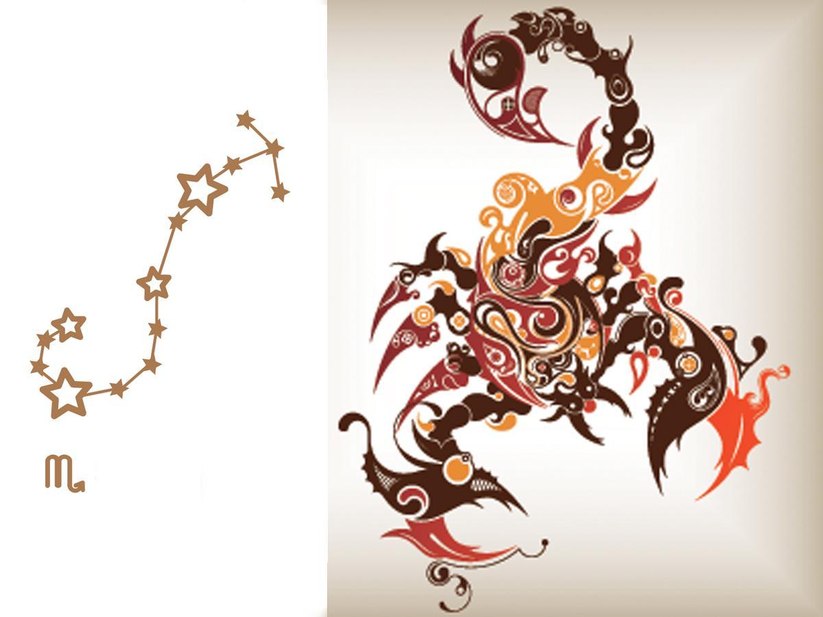 Znak Zodiaku Skorpion Tatuaż Znak Zodiaku Te Wzory