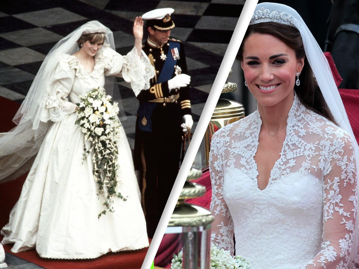 Tych perfum w dniu ślubu użyły księżna Kate i Diana