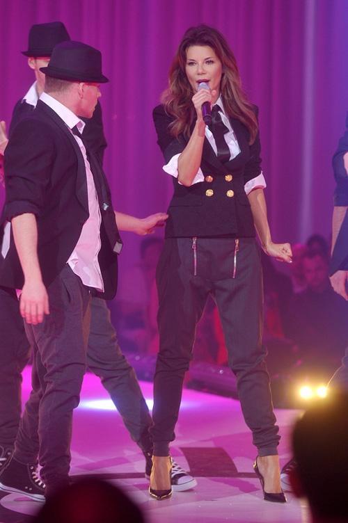 Edyta Górniak na gali Miss Polonia 2012
