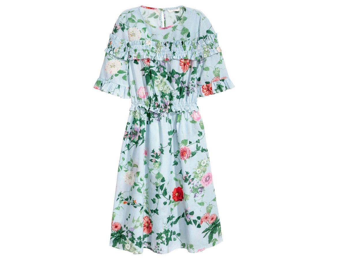 2b3938fe2e Sukienka w kwiaty H amp ...