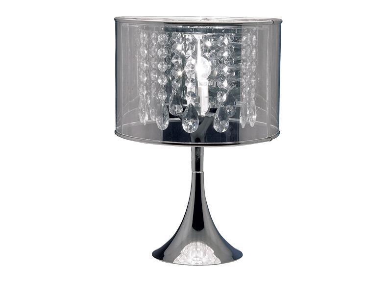 lampa, krzyształy