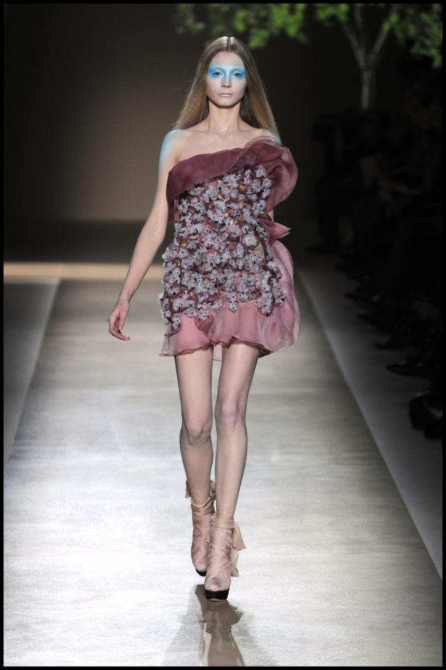 Valentino, kolekcje wiosna-lato 2010