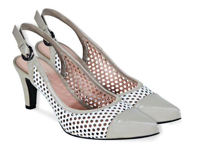 szare pantofle Venezia - wiosna-lato 2011