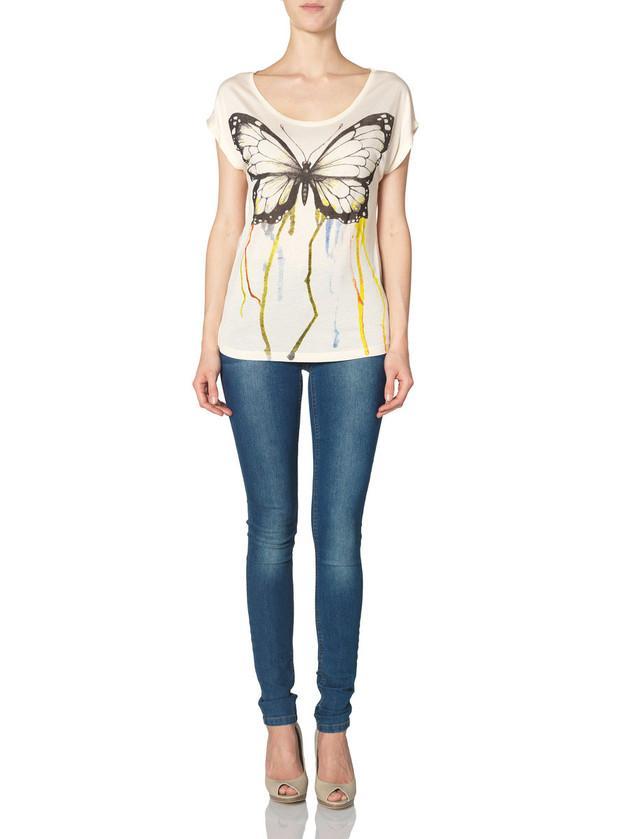 bluzeczka z motylem Vero Moda - kolekcja letnia