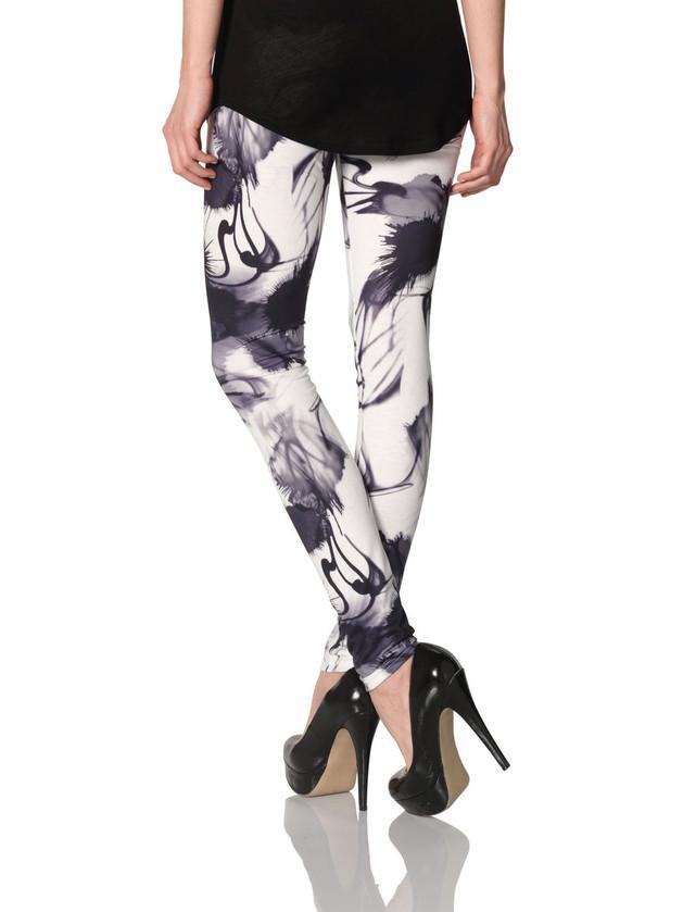 legginsy Vero Moda we wzorki - trendy na lato 2013
