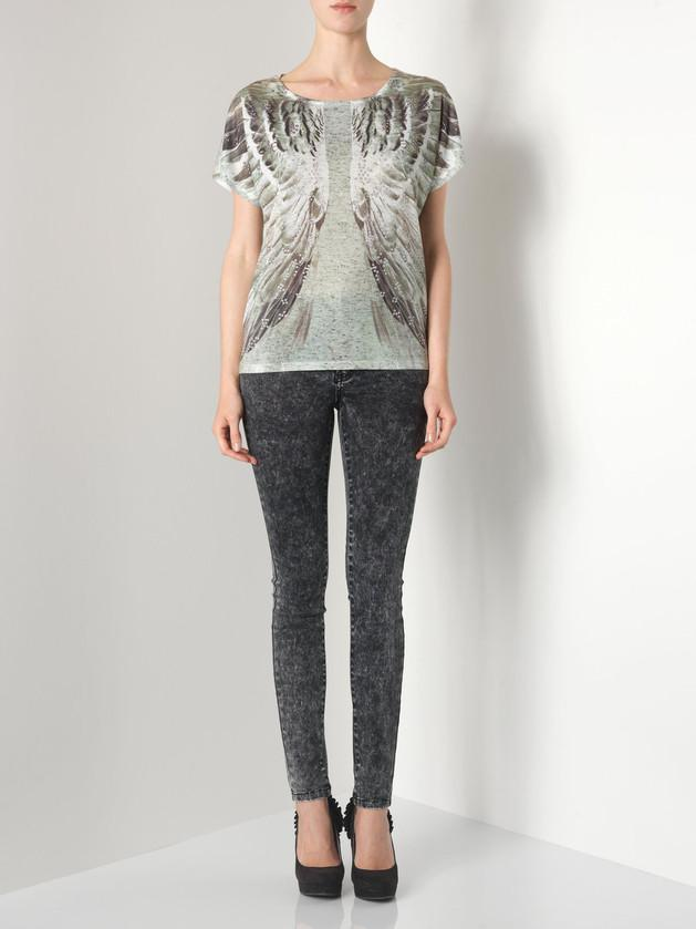 czarne jeansy Vero Moda - lato 2013
