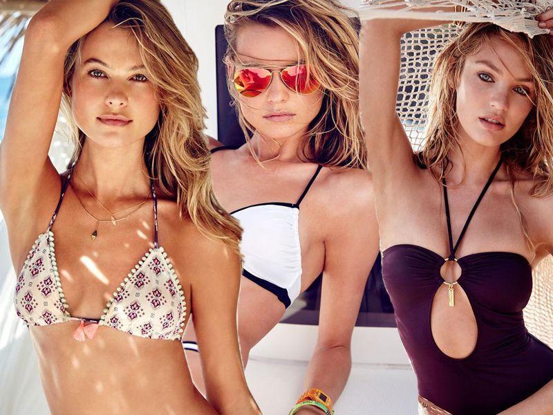 9876a2a9c7bea9 Victoria's Secret stroje kąpielowe - Video - Moda lato 2105 - Trendy ...