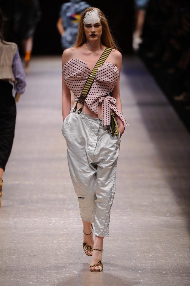 Vivienne Westwood, kolekcje wiosna/lato 2011, pokaz mody wiosna/lato 2011
