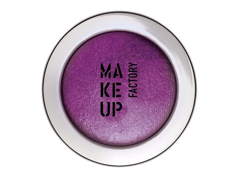 makijaż, trendy, fiolet