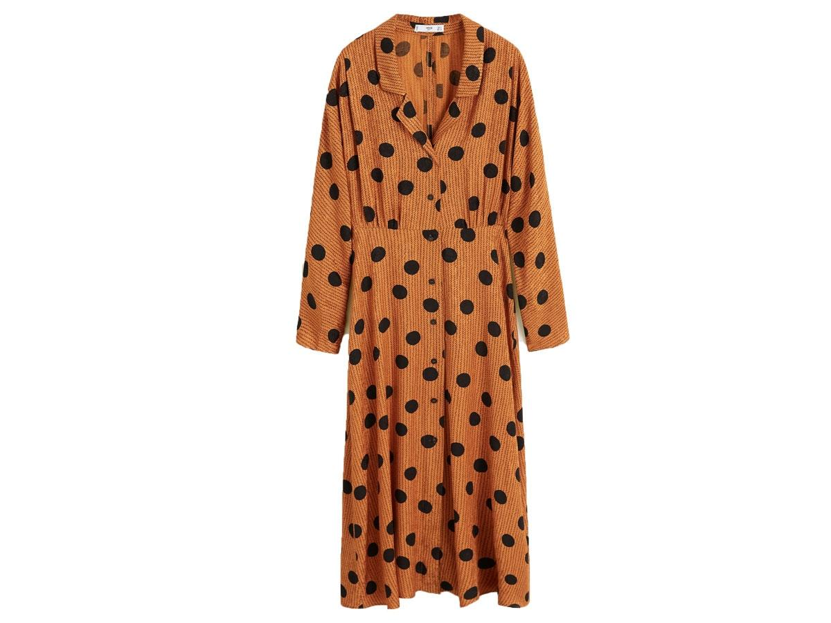 Sukienka w grochy, Mango, cena ok. 199,90 zł